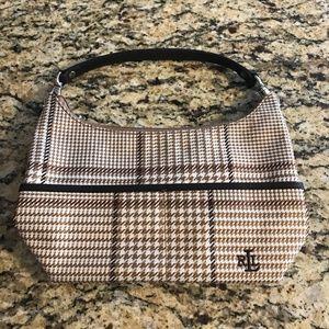 Lauren Ralph Lauren Houndstooth Pattern Handbag